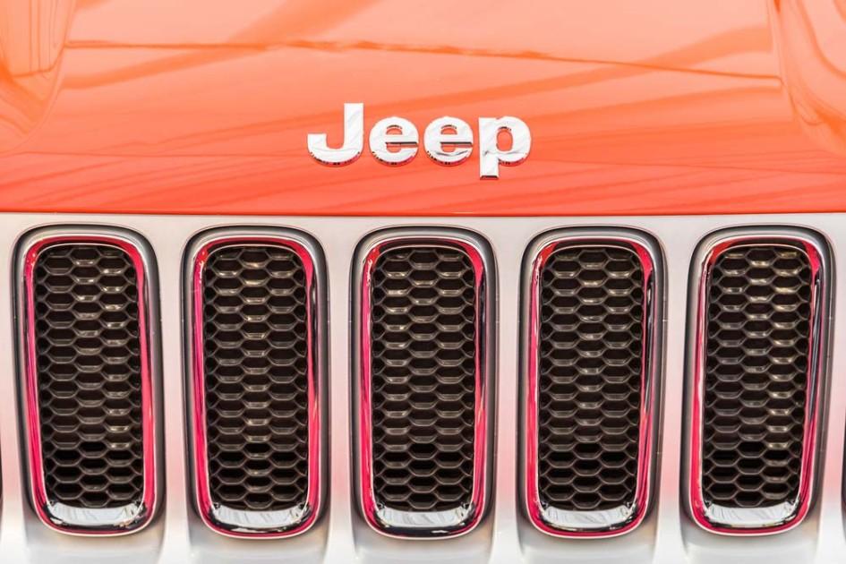 Jeep-grill